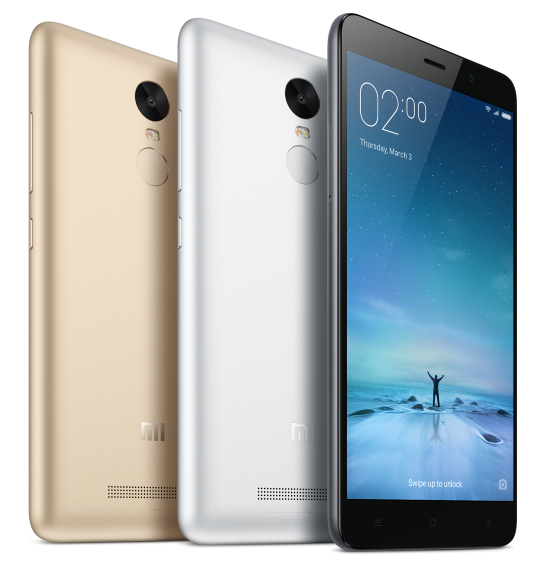 Xiaomi Redmi Note 3 Gray
