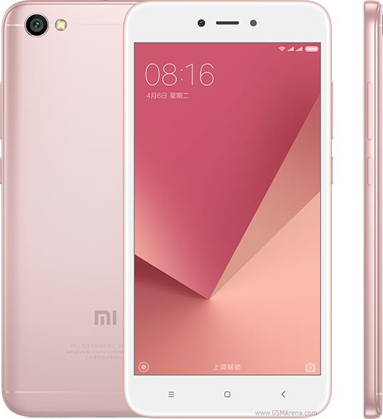Xiaomi Redmi Y1 (Note 5A) Rose Gold